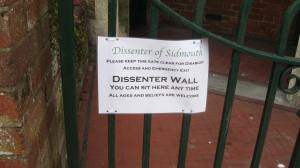 The Dissenter Wall