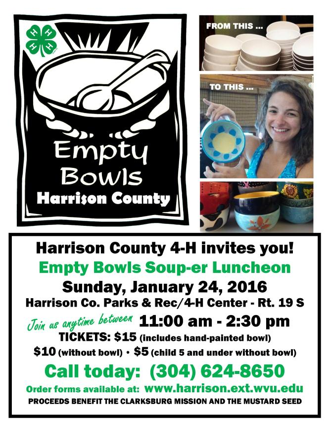 Empty Bowls Flyer