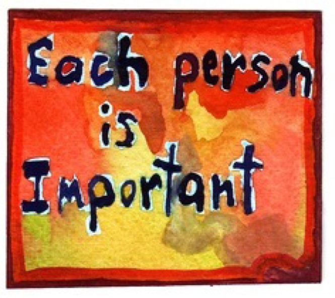 Each Person is Important