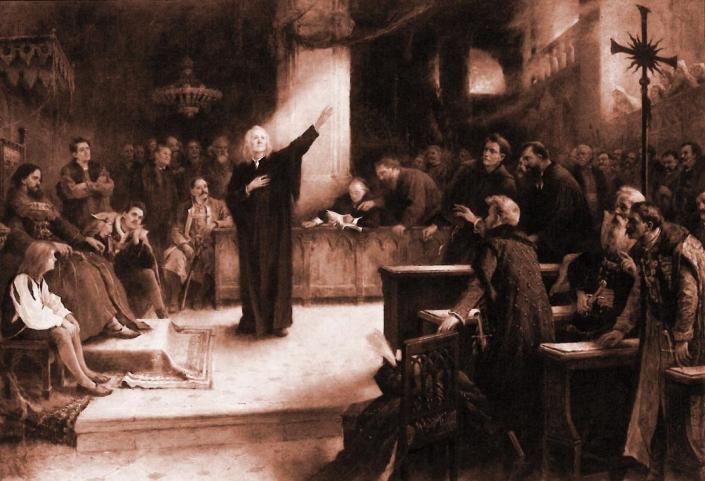 Francis David at the Diet of Torda
